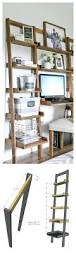 shelf excellent leaning book shelf living inspirations leaning