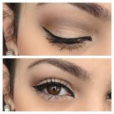 satin eye makeup for brown eyes everyday