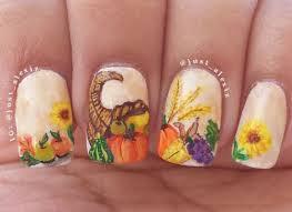 Nail Art Thanksgiving 25 Best Thanksgiving Nail Art Designs Ideas Trends U0026 Stickers