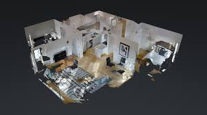3d model floor plan boston apartment 1 000 sqft realtview 3d 360 virtual tours