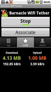 wifi tether for root users apk barnacle wifi tether apk for android