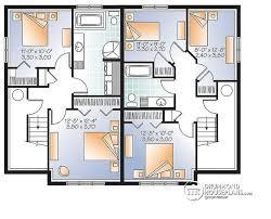 multi family plan w3062 detail from drummondhouseplans com