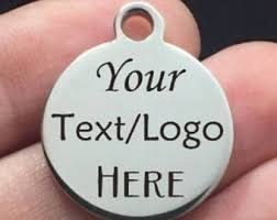 Personalized Charms Bulk Custom Logo Charm
