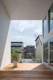 takuro yamamoto designs little house with a big terrace in tokyo