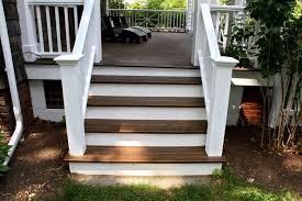 white porch stair railing ideas how to add a porch stair railing