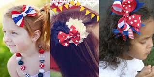 fourth of july hair bows adorable 4th of july hair bows for 2013 girlshue