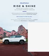 jeep box car jeep sweepstakes popsugar smart living