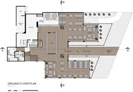 restaurant layouts floor plans theoretical design case study analysis taboo lounge bar and