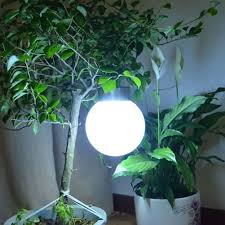 Hanging Gazing Ball Online Buy Wholesale Hanging Outdoor Solar Lights From China