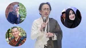 Puisi Sukmawati Puisi Sukmawati Soekarnoputri Heboh Begini Respon Para Artis