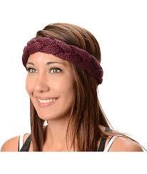 braided headband krochet kids plum braided headband zumiez