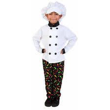 chef costume kids chef costume ebay