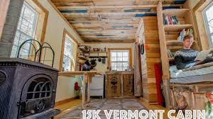 tiny house tour of off grid simple tiny house cabin tiny quality