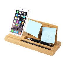 bureau en bambou bureau multifonctionnel bambou porte stylo lunettes boîte