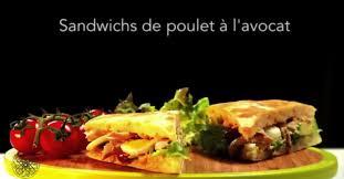 cuisine choumicha poulet choumicha sandwichs de poulet à l avocat vf