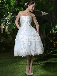 sparkly ruched lace ball gown sweetheart tea length rhinestones