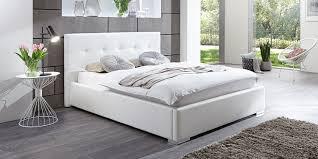 Schlafzimmer Betten Mit Bettkasten Polsterbett Kunstleder Bett Mit Bettkasten Lattenrost 140x200