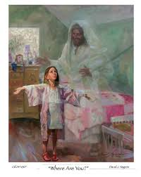 paintings of children child praying for jesus drawing art