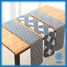 fashion cotton linen table cloth small fresh dinner