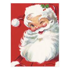 santa claus postcards zazzle