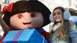 grande performs at macy s thanksgiving day parade mtv uk