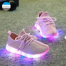 shoes with lights on the bottom 2018 children casual shoes baby boy and sport shoes soft