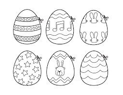 easter eggs pictures print u2013 happy easter 2017