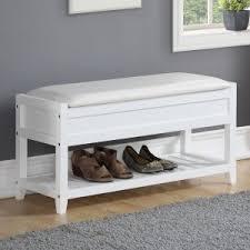 shoe storage benches hayneedle
