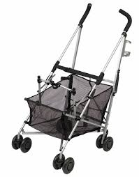 amazon com maclaren easy traveller stroller black and silver