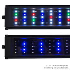30 led aquarium light amazon com beamswork da fspec led aquarium light pent freshwater