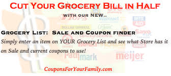 use our grocery price comparison tool to compare grocery items on