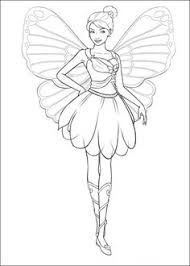 barbie coloring pages print fairy coloring pages barbie mariposa fairy coloring coloring