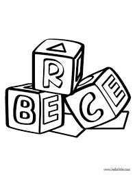building block coloring pages hellokids com