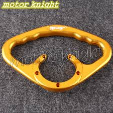 universal cnc tail rear manual tank cover grip for suzuki gsxr 600