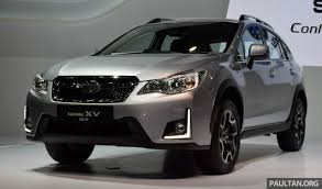 subaru crosstrek 2016 2016 subaru xv facelift launched in bangkok m u0027sian debut set for