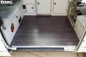 vinyl wood floor upgrade vanagon hacks mods vanagonhacks com