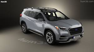 suv subaru 2017 360 view of subaru ascent suv 2017 3d model hum3d store