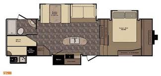 sunset trail rv floor plans new crossroads rv sunset trail grand reserve sf29bh fifth wheel for