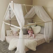 Toddler Bed Canopy Bedroom Baby Sleep Tent Tents For Bunk Beds Tent Only Toddler