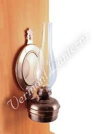 oil lamps antique brass