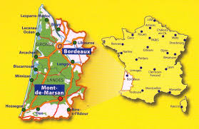 Dijon France Map by 335 Gironde Landes Michelin Local Map France Maps Where Are