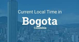 Bogota Flag Current Local Time In Bogota Colombia