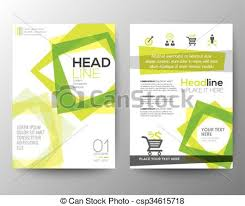 flyer graphic design layout abstract square shape background for poster brochure flyer vector