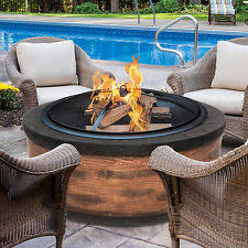 fire pit wood deck stone fire pit outdoor backyard patio fireplace heater wood