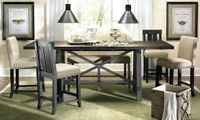 counter height table with butterfly leaf long counter height table medium size of kitchen7 piece counter