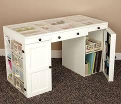 Corner Craft Desk Craft Desk With Storage Design Decoration