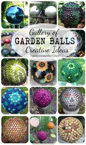Gazing Ball Pedestals How To Make Garden Ornaments Garden Globes Globe And Dark