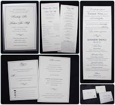 scroll wedding programs navy silver formal border scroll clutch pocket wedding