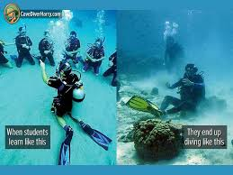 Scuba Meme - our 23 best dive training memes cave diver harry