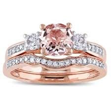 morganite bridal set morganite rings shop the best deals for nov 2017 overstock